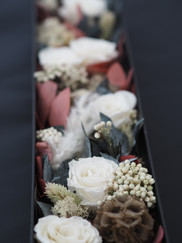Forever Rose Gift Box with Whote Roses