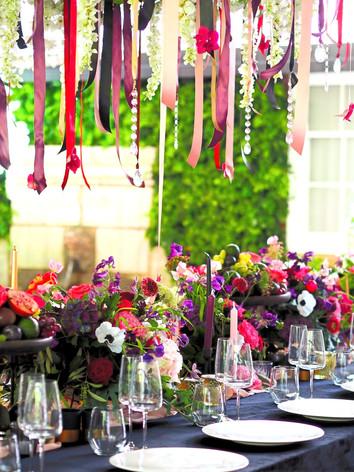 Summer wedding table centres 2021
