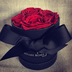 Red Rose Hat Box Gift