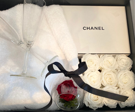'I Do' Channel gift presentation box