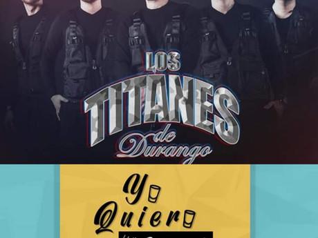 """LOS TITANES TIENEN NUEVO TEMA """" Yo quiero un shot """"❗❗📻🎙️🤗"""