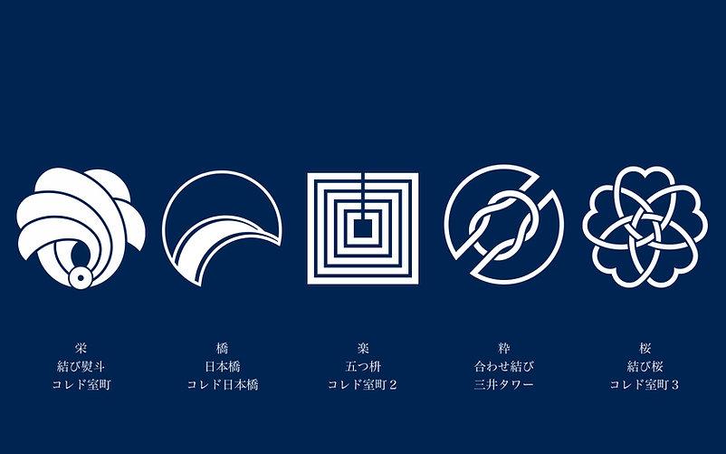 のれんロゴデザイン5紋一列.jpg