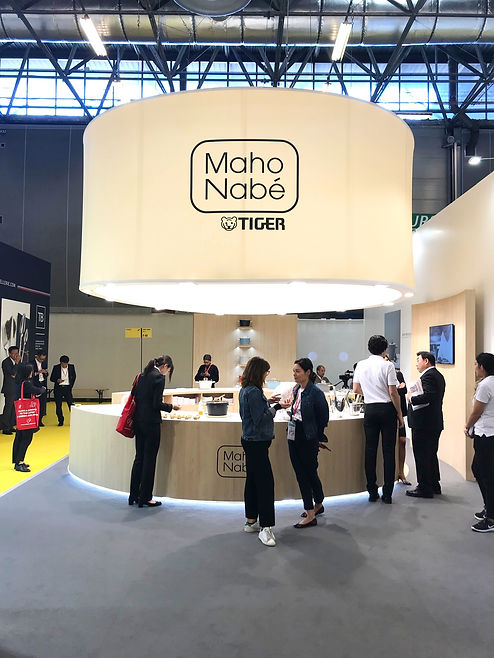 Maison&Objet launch booth