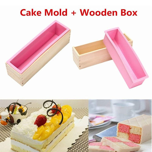Darmika Loaf Mould with Wooden Box (Output Weight Approx : 1 Kilogram)