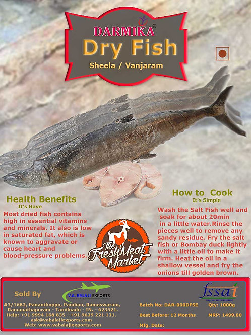 Dry Fish Sheela / Vancharam