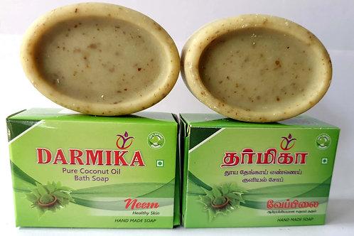 Darmika Organic handmade soap neem soaps 5 nos