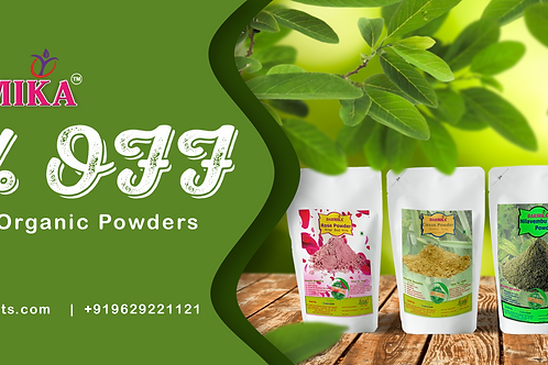 Darmika Organic Powders each 50g