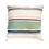 """Thumbnail: Pastel Striped Mexican Style Blanket Pillow Cover 19"""" x 19"""""""