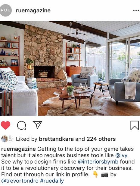 Rue Magazine Instagram | March 2019