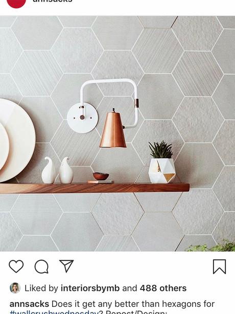 Ann Sacks Instagram | April 2019