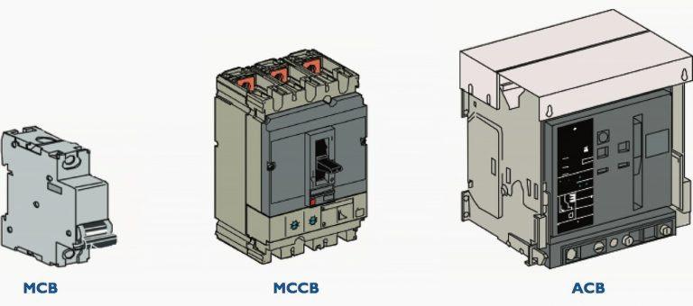 MCB-MCCB-ACB Circuit Breakers