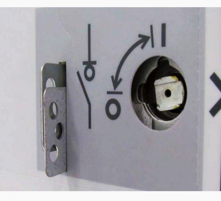 Provision for a UniSec switchgear padlock