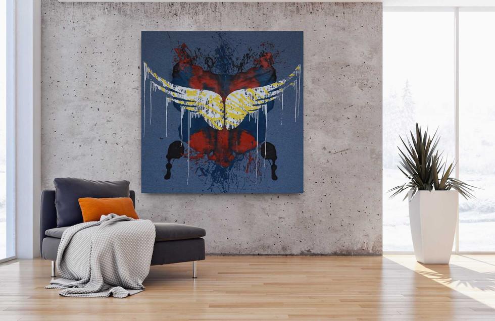 """Holy wings"" (On display)"
