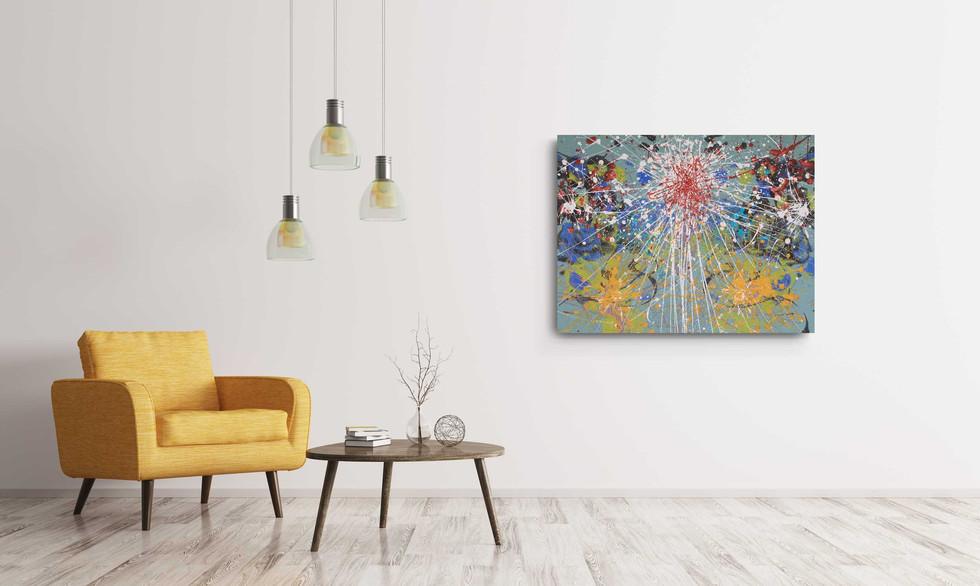 """""""Three corona suns"""" (sold)"""