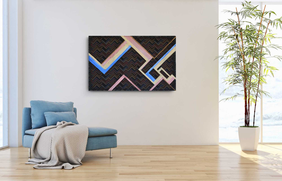"""""""Two-dimensional maze"""" (sold)"""