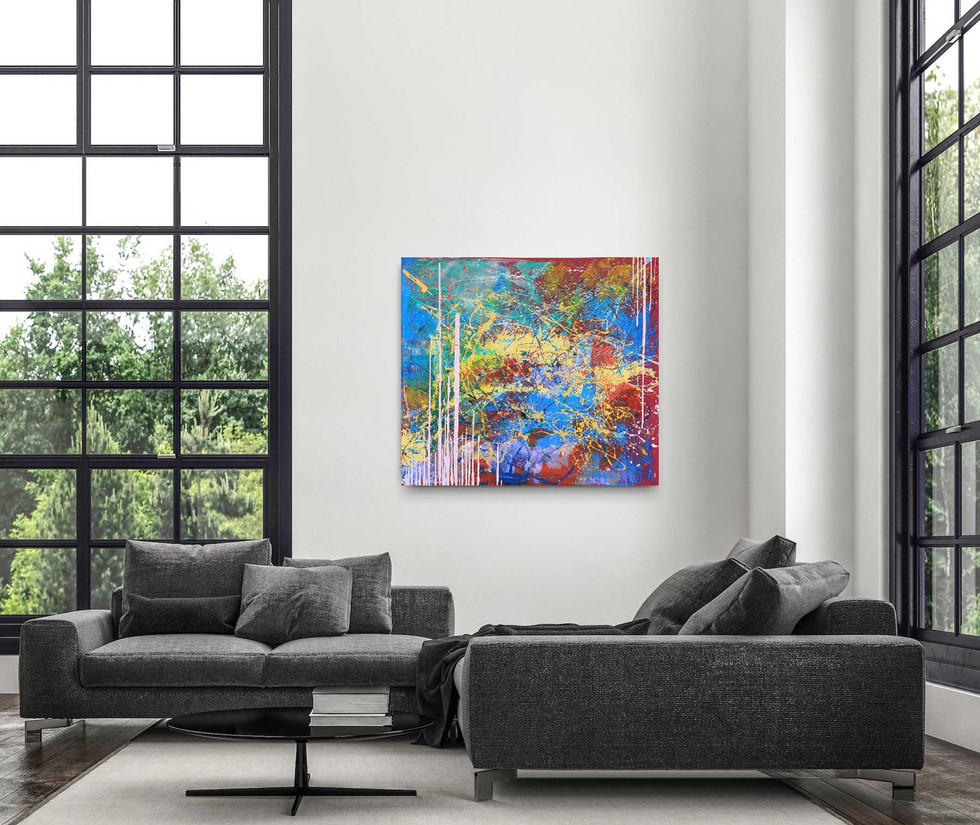"""""""Go with the flow"""" (Sold)"""