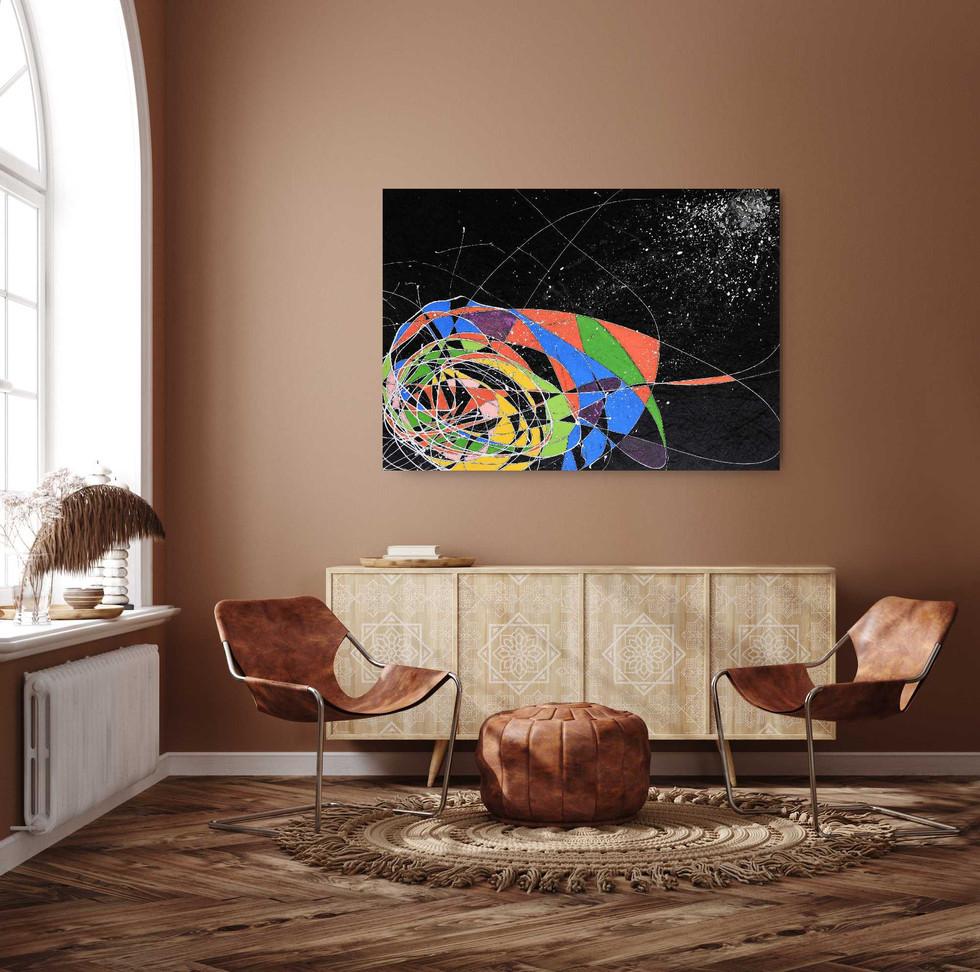 """""""Black Hole"""" (On display)"""