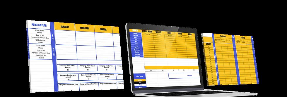 2021 Digital Strategy Calendar CF