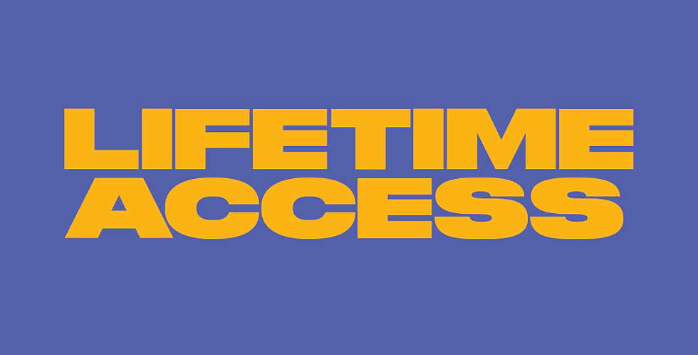 Lifetime Course Access