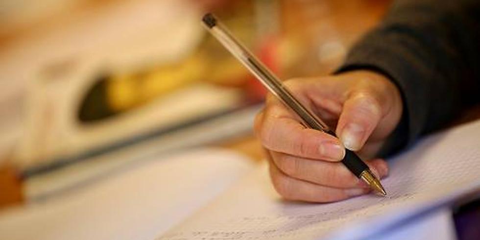 Atelier d'écriture Poésie/Slam