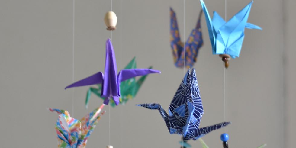 "Totem Kids ""Origami mobile au vent de printemps..."""