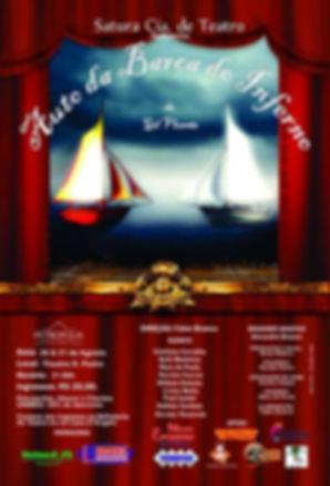 Cartaz Auto da Barca do Inferno