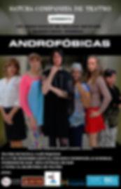 Cartaz Androfóbicas