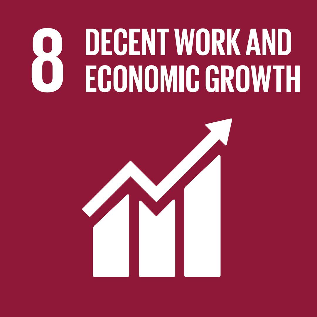DECENT WORK AND ECONOMIC GROWTH - การจ้างงานที่มีคุณค่าและการเติบโตทางเศรษฐกิจ