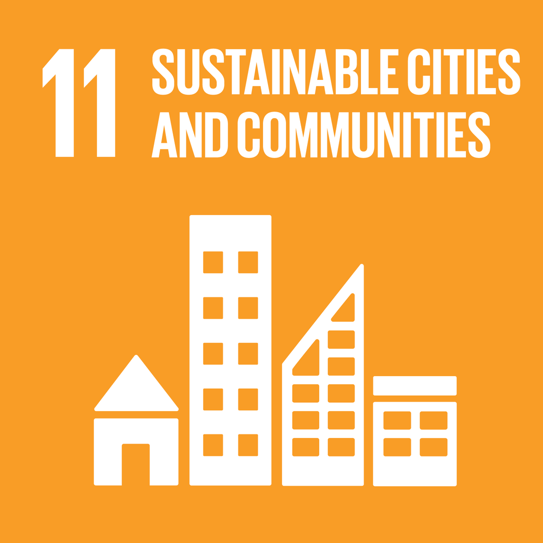 SUSTAINABLE CITIES AND COMMUNITIES - เมืองและถิ่นฐานมนุษย์อย่างยั่งยืน