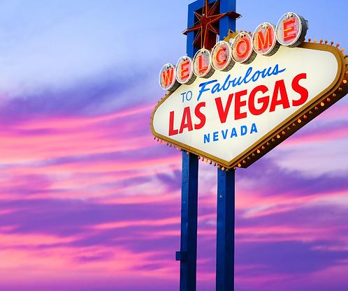 Fly to Las Vegas! - (Aug. 1-5, 2021)