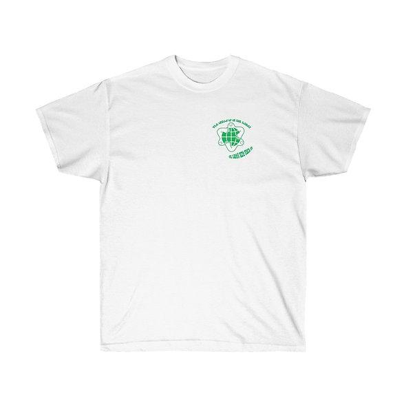 SHAPLESS 'GREEN' GRAPHIC TEE (WHITE)