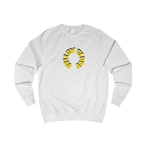 YELLOW GLOBE OVERSIZE SWEATSHIRT (WHITE)