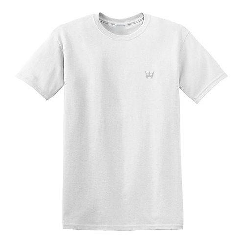 REFLECTIVE LOGO T-SHIRT BY HODSON WILLIAMS (WHITE)