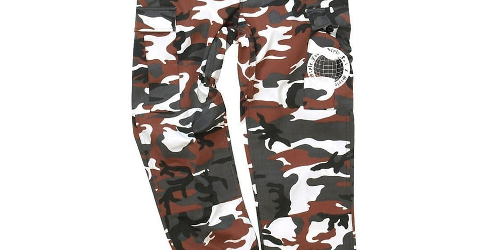 FAD x STYLES COMBAT CARGO TROUSERS (BROWN)