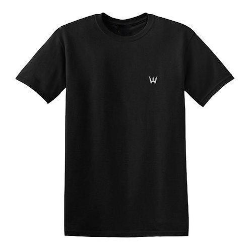 REFLECTIVE LOGO T-SHIRT BY HODSON WILLIAMS (BLACK)
