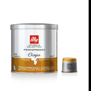 Illy Iper Espresso Ethiopia 21 Caps