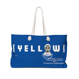 Yellow Globe Weekender Bag