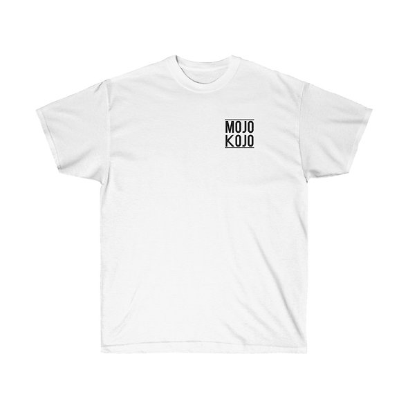 MOJO KOJO LOGO T-SHIRT (WHITE)