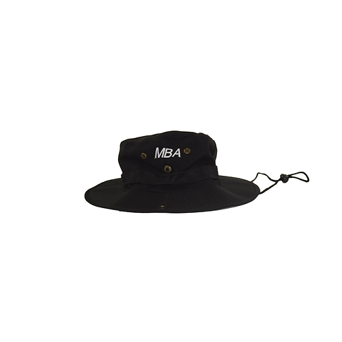 MBA EMBROIDERED FISHERMAN HAT (BLACK)