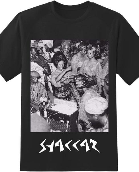 SHAKKAR ALIVE T-SHIRT (BLACK)