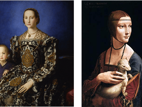 DONNA PRUDENTE, DONNA ECCELLENTE: THE REPRESENTATION OF THE FEMALE FORM IN ITALIAN RENAISSANCE ART.