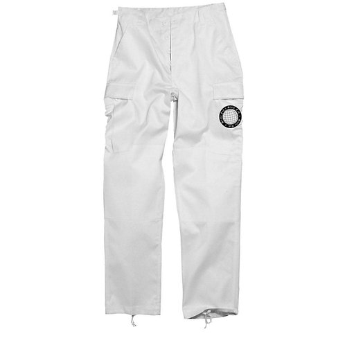 FAD x STYLES CARGO TROUSERS WITH PAPERBAG WAIST
