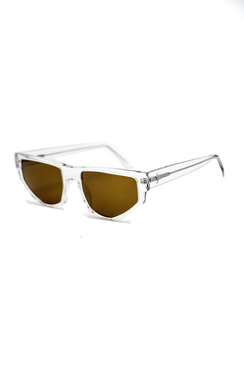 SHAKKAR SHADES 'DAVE' SUNGLASSES (CLEAR)