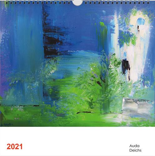 Kunst-Kalender Auda Deichs 2021