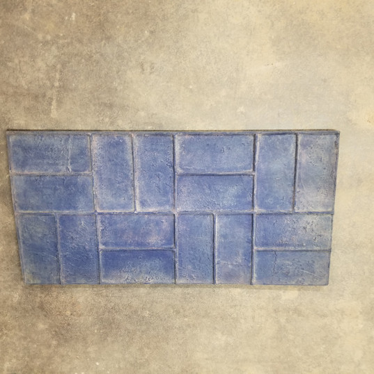 Basketweave Brick Stamp