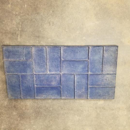 Basketweave Brick Stamp