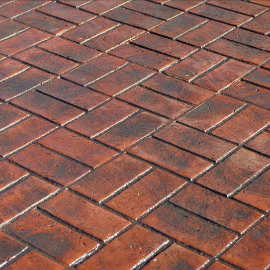 Basketweave Brick Traditional Finish