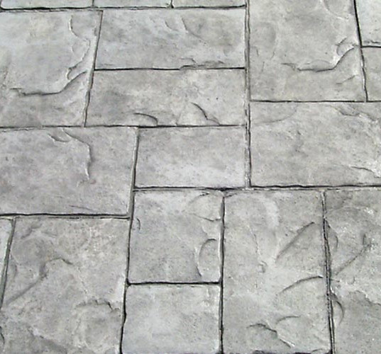 Ashlar Slate Finished in Gray