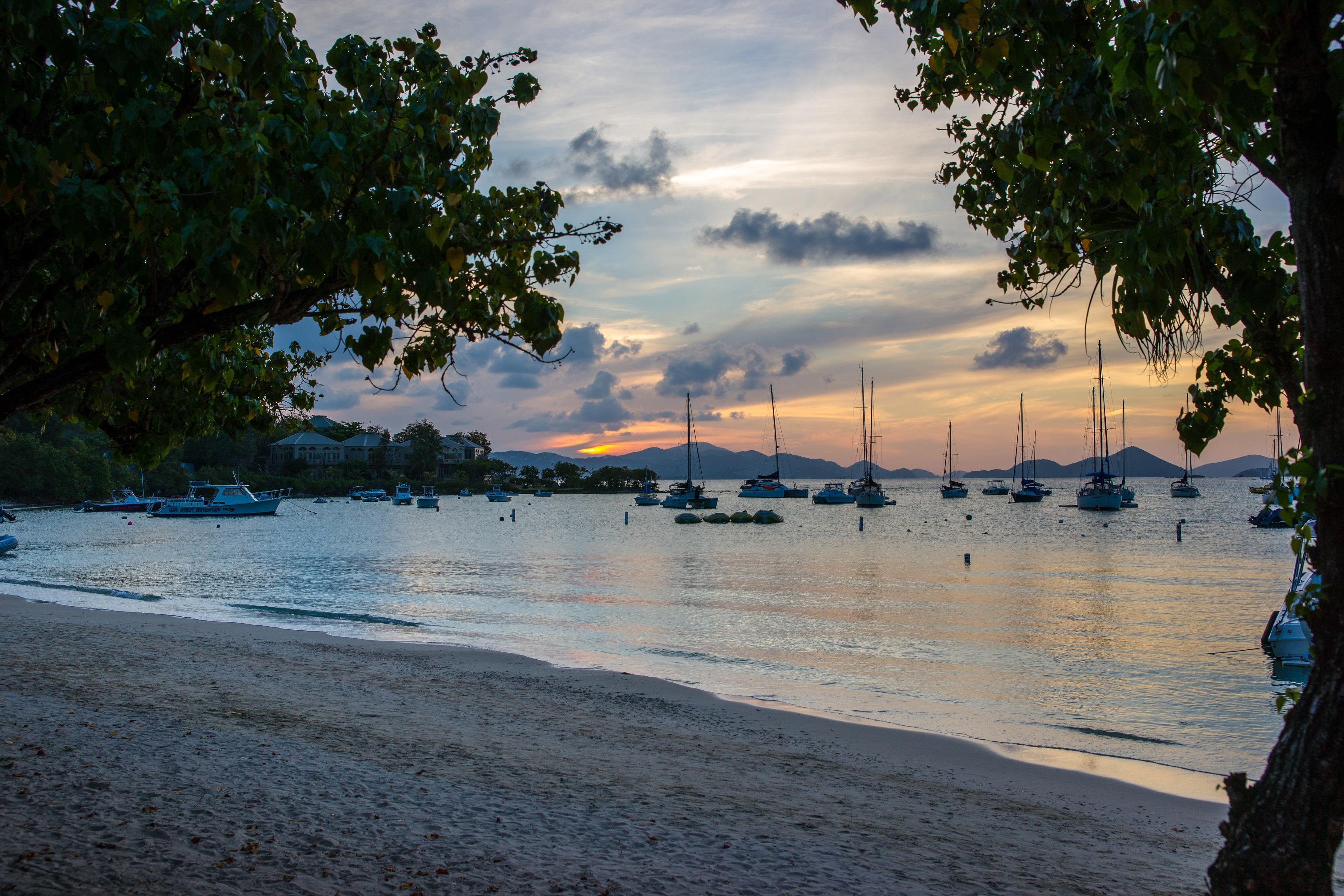 Views of the Island - Cruz Bay