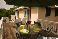 Guest House Upper Level Deck